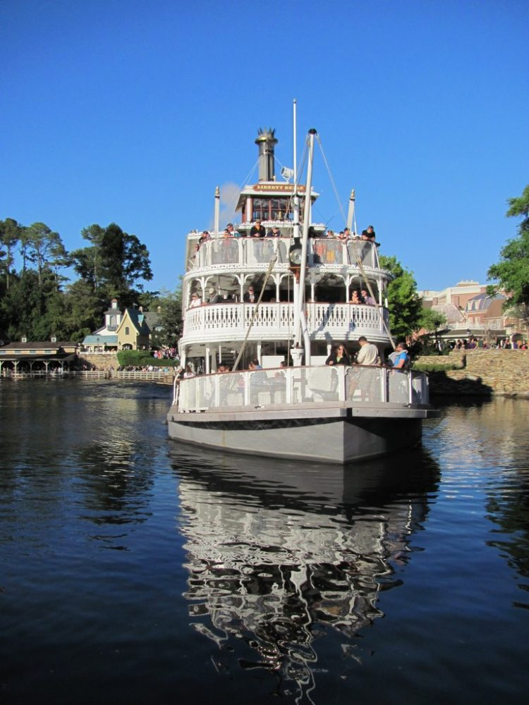 The Liberty Square Riverboats
