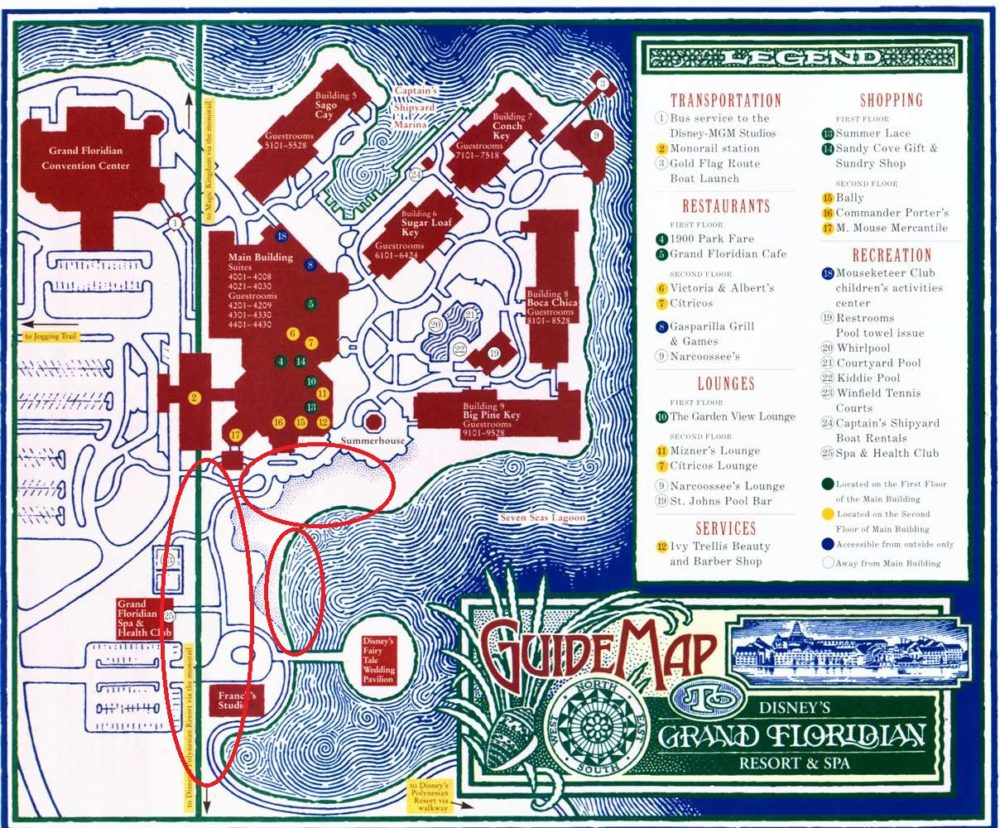Grand Floridian Map Dvc Construction Doctor Disney