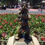 Do you know all of the characters around the 'Partners Statue' hub in the Magic Kingdom?