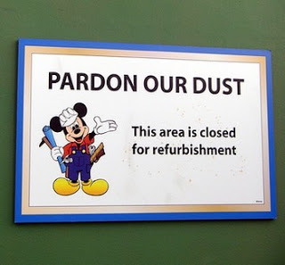 Image result for disneyland refurb