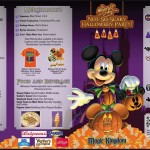Guide maps now out for Mickey's Not So Scary Halloween Party