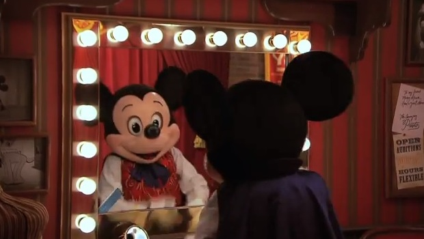 Talking magician mickey mouse returning to town square theater in magician mickey mouse m4hsunfo