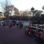 Photos of expanded Liberty Square walkway in Magic Kingdom