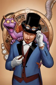 Disney Marvel Figment comic