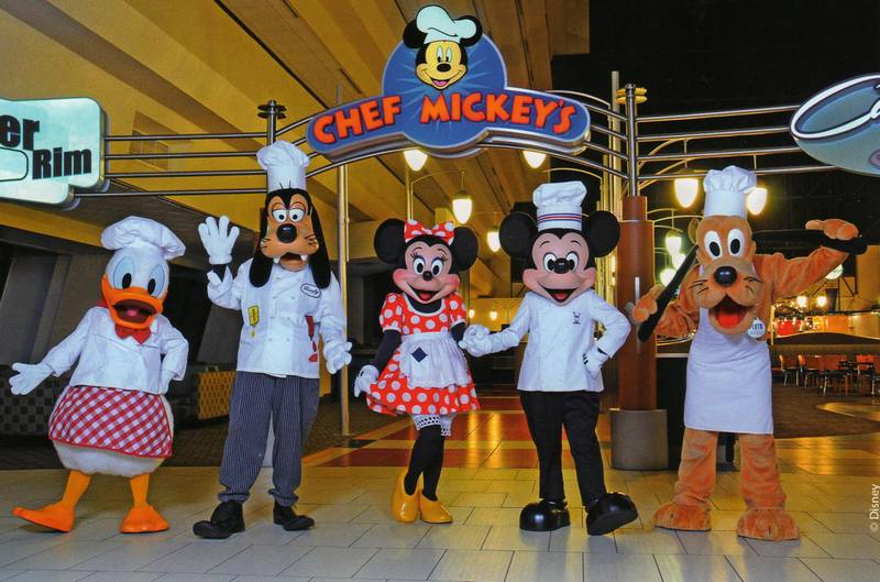 Walt Disney World Recipes Chef Mickey's