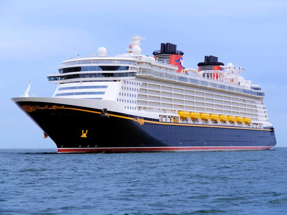 Disney Dream dry dock 2015