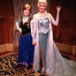 New Standby/FASTPass+ Test For Anna and Elsa at Princess Fairytale Hall