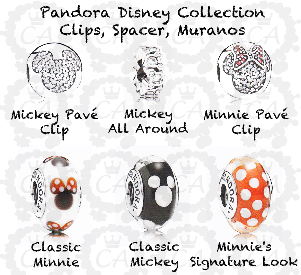 Preview Of Pandora Disney 2014 Collection With Pictures