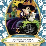 Minnie Mouse Costume Chaos Card For Sorcerers Of The Magic Kingdom Coming Exclusively To Mickey's Not-So-Scary Halloween Party