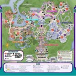 Early Look At Map For Mickey's Not-So-Scary Halloween Party 2015
