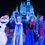 A 'Frozen Holiday Wish' Begins Wednesday Night At Magic Kingdom