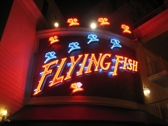 Flying Fish Cafe Opening Date
