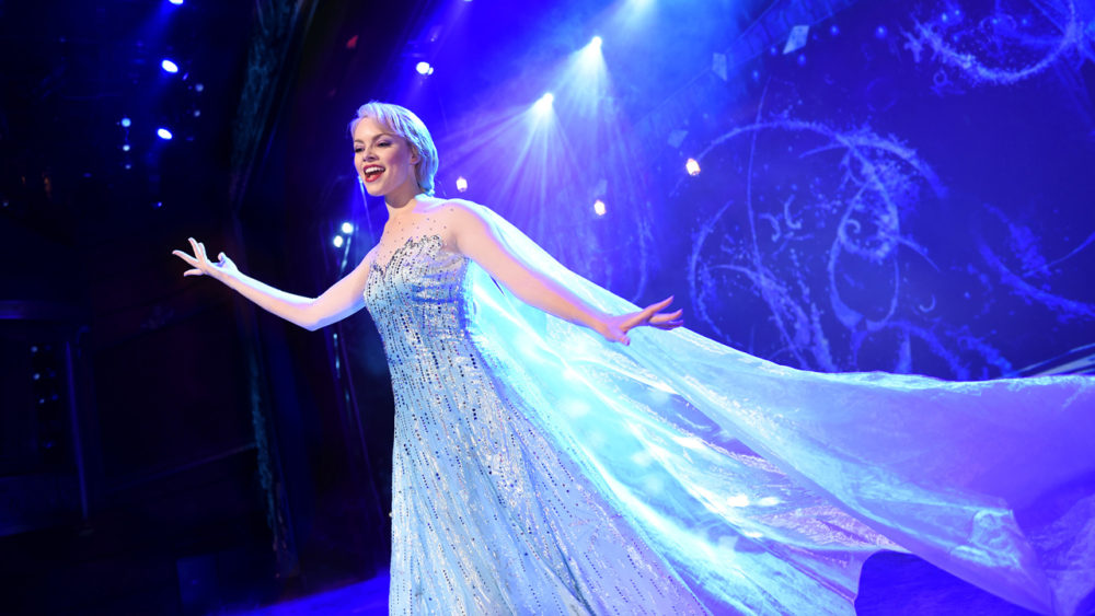 Frozen On Ice Disney Tour