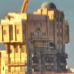 The Twilight Zone Tower Of Terror Sign Removed From Attraction In Disney California Adventure