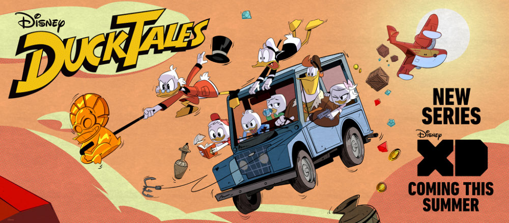 Disney Releases First Teaser Trailer For 'DuckTales' Reboot