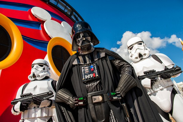 disney fantasy star wars day at sea