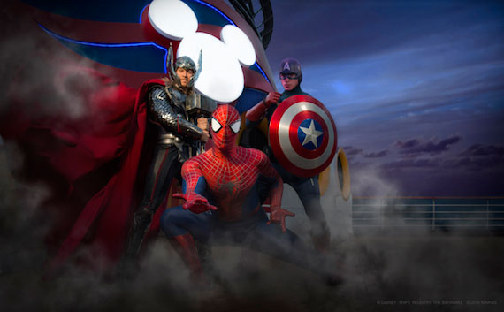 marvel day at sea 2018 disney magic