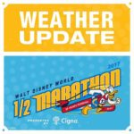 RunDisney Cancels Walt Disney World Half Marathon And All Saturday Races Due To Weather
