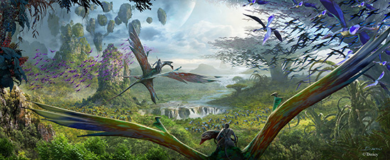 Pandora - The World Of Avatar annual passholder preview