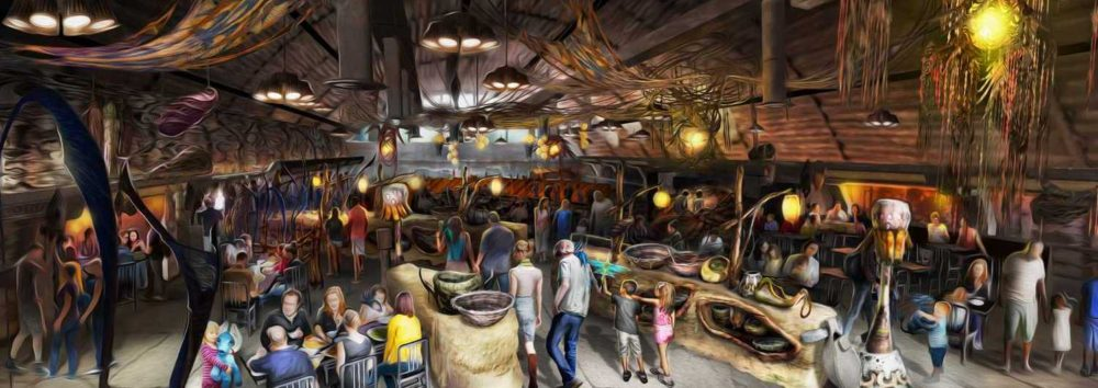 First Look At Menu For Satu'li Canteen In Pandora – The World Of Avatar: Will Feature Mobile Ordering