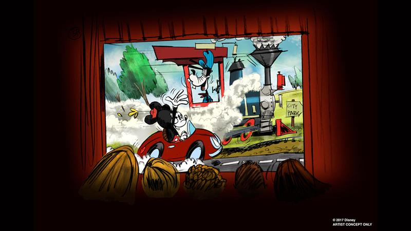 walt disney parks and resorts d23 expo 2017 announcements mickey minnie runaway railway
